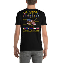 Load image into Gallery viewer, USS Ranger (CV-61) 1991 Cruise Shirt