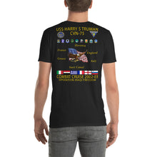 Load image into Gallery viewer, USS Harry S. Truman (CVN-75) 2002-03 Cruise Shirt