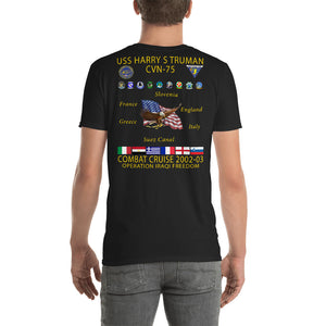USS Harry S. Truman (CVN-75) 2002-03 Cruise Shirt
