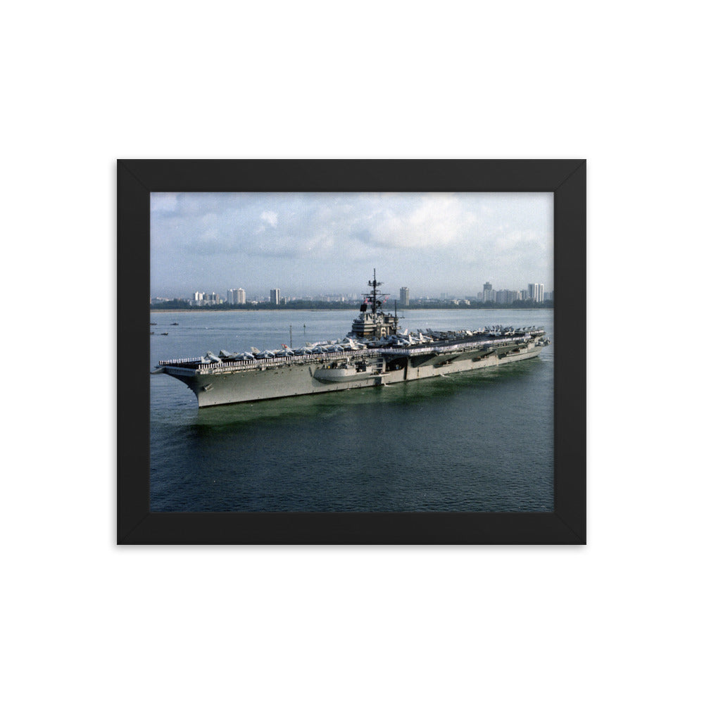 USS Ranger (CV-61) Framed Ship Photo