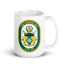 Load image into Gallery viewer, USS Green Bay (LPD-20) Ship's Crest Mug