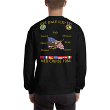 Load image into Gallery viewer, USS Dale (CG-19) 1984 Cruise Sweatshirt
