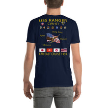 Load image into Gallery viewer, USS Ranger (CVA-61) 1959 Cruise Shirt