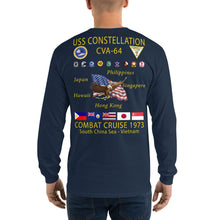 Load image into Gallery viewer, USS Constellation (CVA-64) 1973 Long Sleeve Cruise Shirt