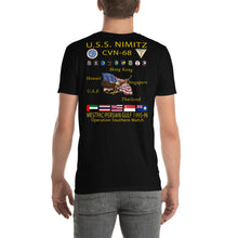 Load image into Gallery viewer, USS Nimitz (CVN-68) 1995-96 Cruise Shirt