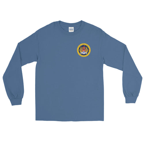 USS America (CV-66) 1986 Long Sleeve Cruise Shirt
