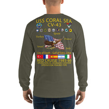 Load image into Gallery viewer, USS Coral Sea (CV-43) 1985-86 Long Sleeve Cruise Shirt