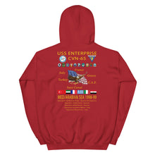 Load image into Gallery viewer, USS Enterprise (CVN-65) 1998-99 Cruise Hoodie