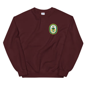 USS Green Bay (LPD-20) Ship's Crest Sweatshirt