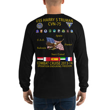 Load image into Gallery viewer, USS Harry S. Truman (CVN-75) 2013-14 Long Sleeve Cruise Shirt