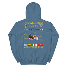 Load image into Gallery viewer, USS America (CVA-66) 1967 Cruise Hoodie
