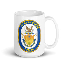 Load image into Gallery viewer, USS Mesa Verde (LPD-19) Ship's Crest Mug