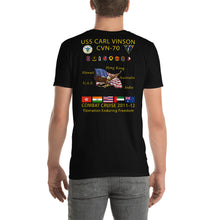 Load image into Gallery viewer, USS Carl Vinson (CVN-70) 2011-12 Cruise Shirt