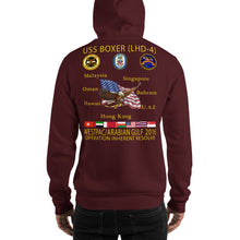 Load image into Gallery viewer, USS Boxer (LHD-4) 2016 Cruise Hoodie