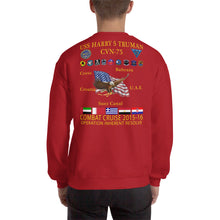 Load image into Gallery viewer, USS Harry S. Truman (CVN-75) 2015-16 Cruise Sweatshirt