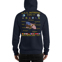 Load image into Gallery viewer, USS Intrepid (CVS-11) 1971 Cruise Hoodie