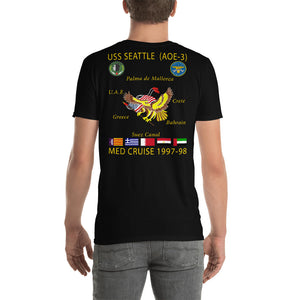 USS Seattle (AOE-3) 1997-98 Cruise Shirt