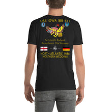 Load image into Gallery viewer, USS Iowa (BB-61) 1985 Cruise Shirt