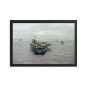 USS Constellation (CV-64) Framed Ship Store