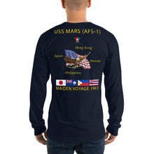 Load image into Gallery viewer, USS Mars (AFS-1) 1963 Long Sleeve Cruise Shirt