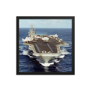 USS Carl Vinson (CVN-70) Framed Ship Photo