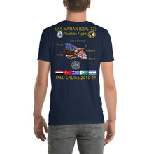 Load image into Gallery viewer, USS Mahan (DDG-72) 2010-11 Cruise Shirt