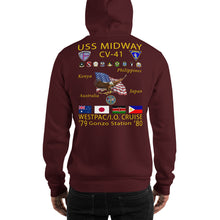 Load image into Gallery viewer, USS Midway (CV-41) 1979-80 Cruise Hoodie