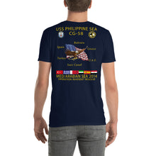 Load image into Gallery viewer, USS Philippine Sea (CG-58) 2014 Cruise Shirt