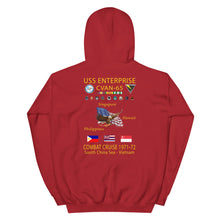 Load image into Gallery viewer, USS Enterprise (CVAN-65) 1971-72 Cruise Hoodie