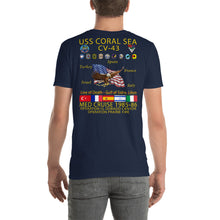 Load image into Gallery viewer, USS Coral Sea (CV-43) 1985-86 Cruise Shirt