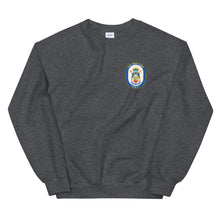 Load image into Gallery viewer, USS New York (LPD-21) Ship's Crest Sweatshirt