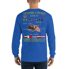 Load image into Gallery viewer, USS Harry S. Truman (CVN-75) 2015-16 Long Sleeve Cruise Shirt