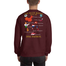 Load image into Gallery viewer, USS Blue Ridge (LCC-19) 2016 Patrol Sweatshirt - Map