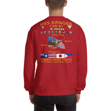 Load image into Gallery viewer, USS Ranger (CVA-61) 1964-65 Cruise Sweatshirt