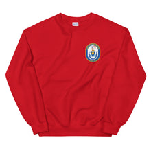 Load image into Gallery viewer, USS Fort McHenry (LSD-42) Ship's Crest Sweatshirt