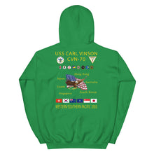 Load image into Gallery viewer, USS Carl Vinson (CVN-70) 2003 Cruise Hoodie