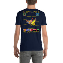 Load image into Gallery viewer, USS Seattle (AOE-3) 1997-98 Cruise Shirt