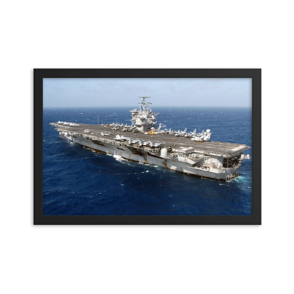 USS Enterprise (CVN-65) Framed Ship Photo