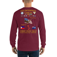 Load image into Gallery viewer, USS Enterprise (CVAN-65) 1966-67 Long Sleeve Cruise Shirt