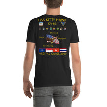 Load image into Gallery viewer, USS Kitty Hawk (CV-63) 2000 Cruise Shirt