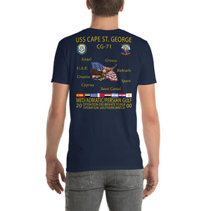 USS Cape St George (CG-71) 2000 Cruise Shirt