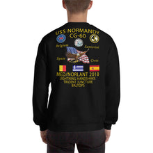 Load image into Gallery viewer, USS Normandy (CG-60) 2018 Cruise Sweatshirt
