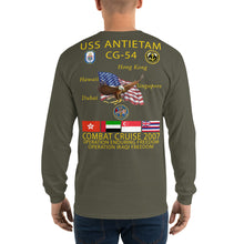Load image into Gallery viewer, USS Antietam (CG-54) 2007 Long Sleeve Cruise Shirt