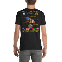 Load image into Gallery viewer, USS Lake Erie (CG-70) 1997 Cruise Shirt