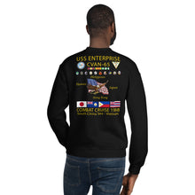 Load image into Gallery viewer, USS Enterprise (CVAN-65) 1968 Cruise Sweatshirt