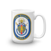 Load image into Gallery viewer, USS Bataan (LHD-5) Ship's Crest Mug