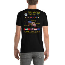 Load image into Gallery viewer, USS Carl Vinson (CVN-70) 2014-15 Cruise Shirt