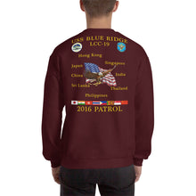 Load image into Gallery viewer, USS Blue Ridge (LCC-19) 2016 Patrol Sweatshirt