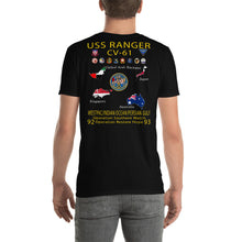 Load image into Gallery viewer, USS Ranger (CV-61) 1992-93 Cruise Shirt - Map