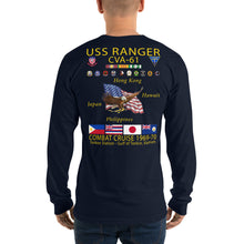 Load image into Gallery viewer, USS Ranger (CVA-61) 1969-70 Long Sleeve Cruise Shirt